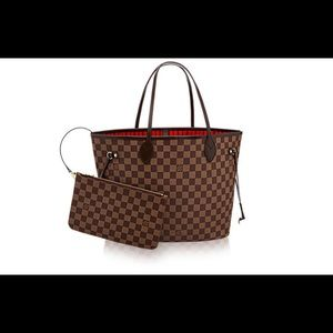 Louis Vuitton Never Full (In Cherry)